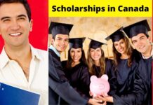 Scholarships in Canada for international students 2021