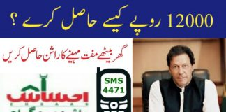 ehsaas ration program online registration