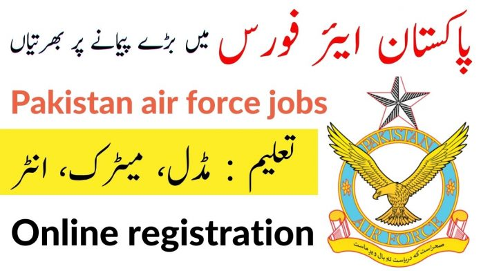PAF civilian jobs 2020 advertisement
