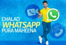 Telenor WhatsApp Package Monthly Code 2021