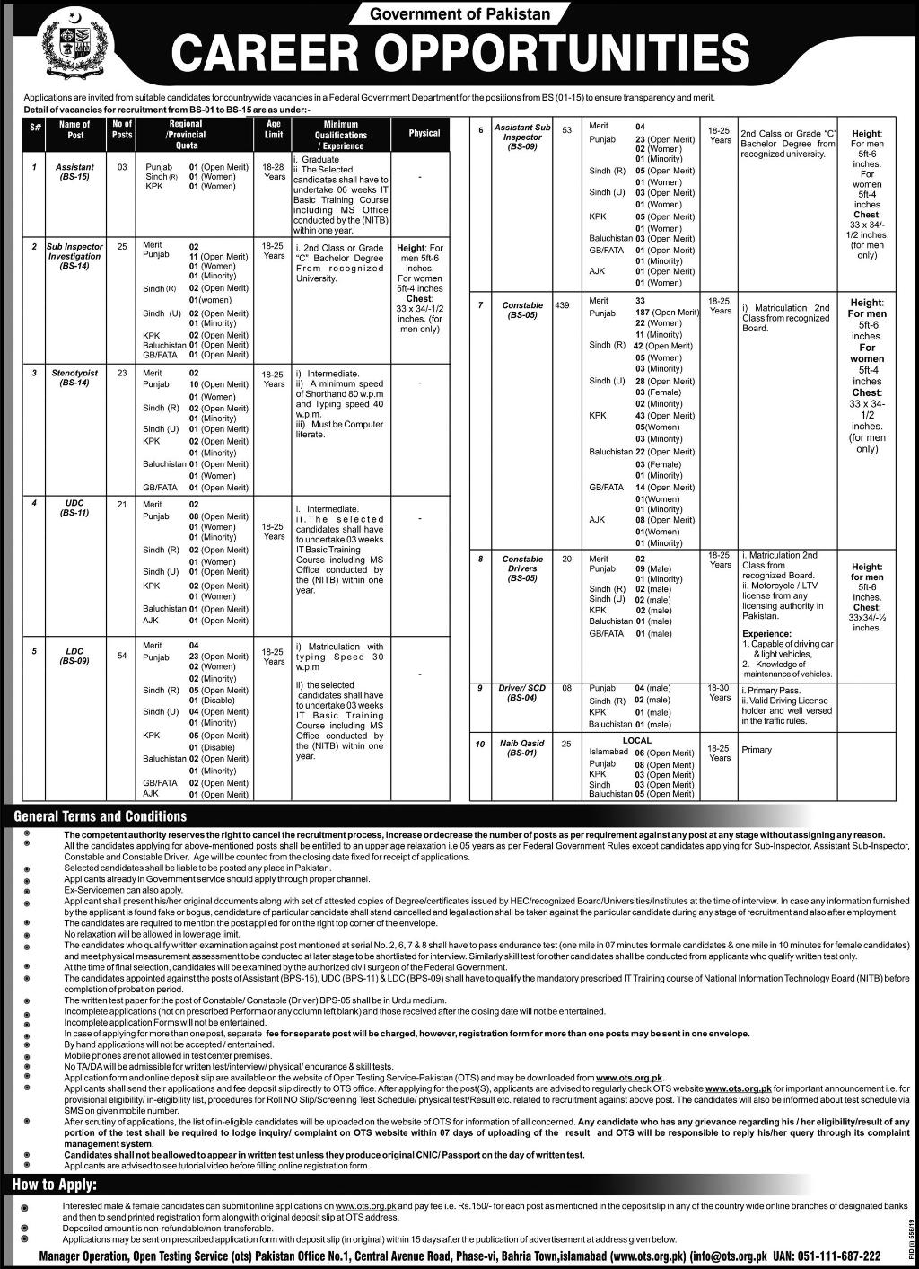 FIA jobs joining/ appointment letter 2020 Constable