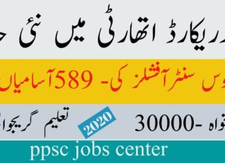 Punjab Land Records Authority Jobs 2020