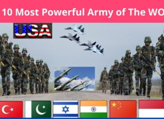 The Top 10 Powerful Army in the World 2021