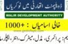 Malir Development Authority Jobs 2020