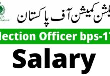 Election Officer Salary