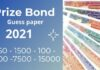 Prize Bond Guess Papers 2021