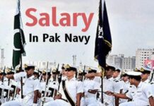 Sailor salary in Pak navy