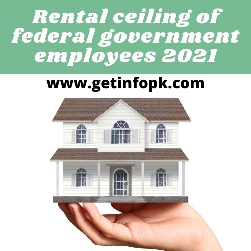 Rental ceiling of federal government employees 2021