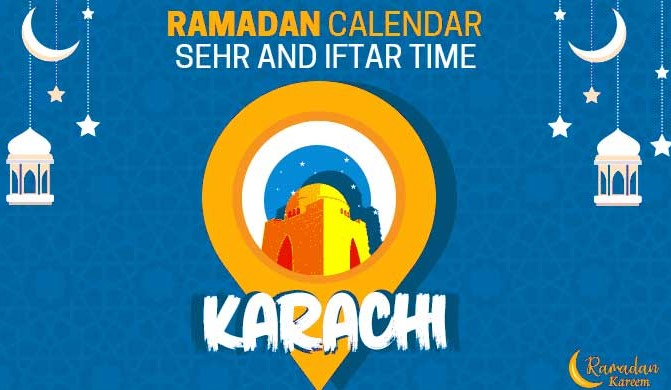 Karachi today iftar time