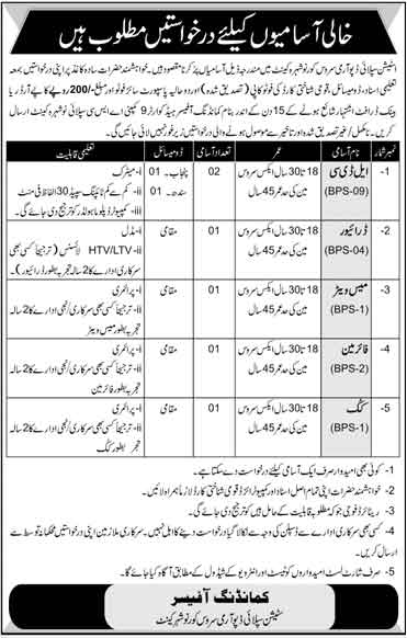 Station Supply Depot Army Service Core Jobs
