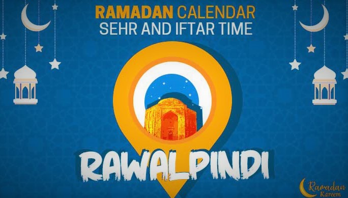 sehri and iftar time today in rawalpindi