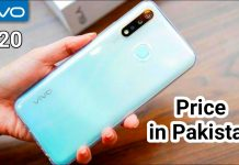 Vivo Y20 Price in Pakistan