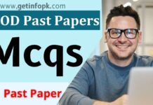 MOD past papers