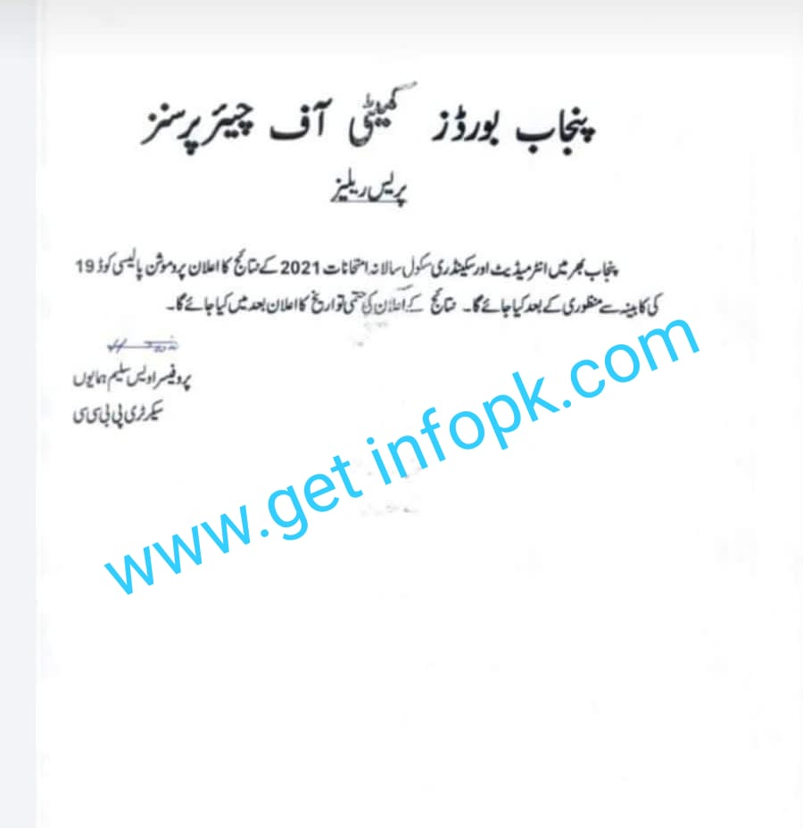 2nd year result 2021 Rawalpindi board by roll number