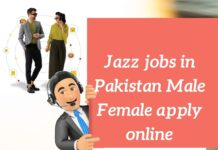 Jazz Jobs 2021 in Pakistan