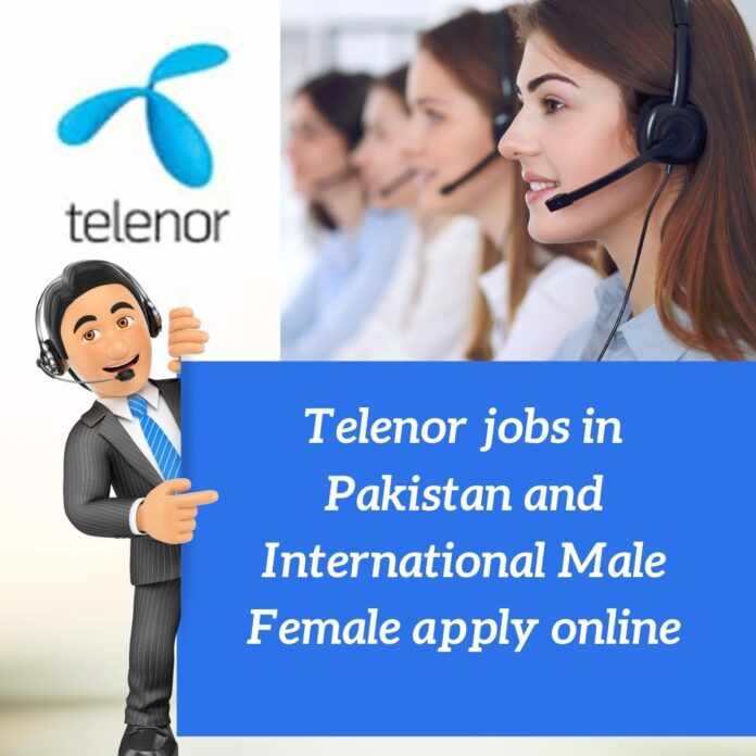 Telenor jobs in Pakistan 2021