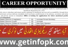 Islamabad healthcare regulatory authority jobs 2021